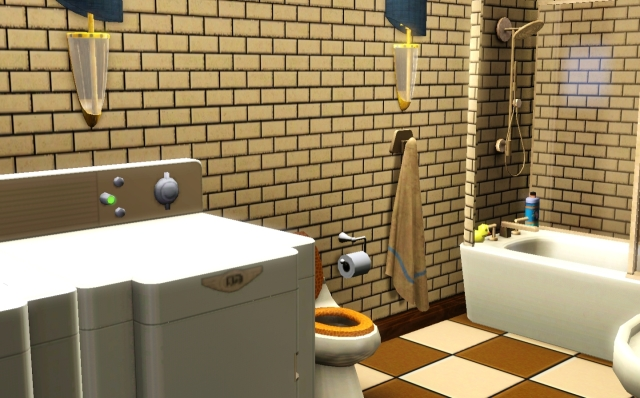 Main Floor Bathroom / Laundry